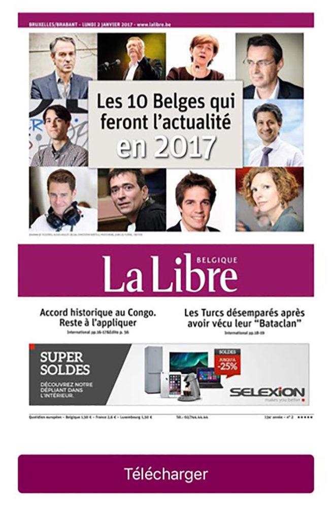 10 belges actualité 2017