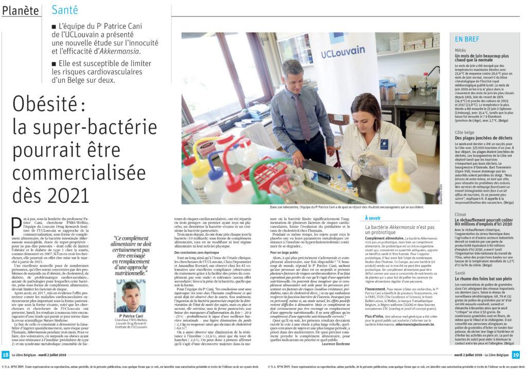obésité super bactérie commercialisée 2021