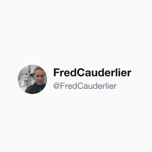 twitter @fredcauderlier