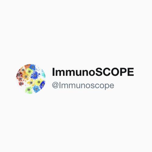 twitter @ImmunoSCOPE