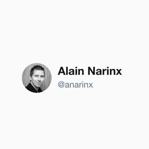 twitter @anarinx